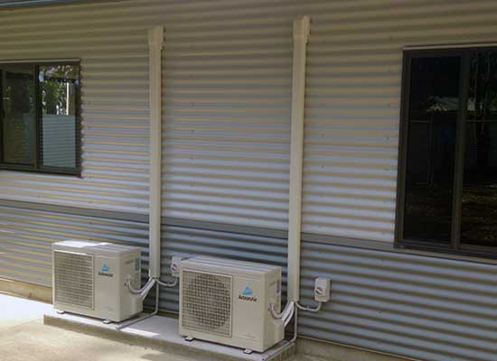 Air con installations